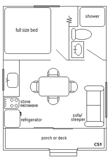 Cabin_C51_Floor_Plan